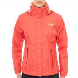 The North Face Coat Resolve mid red