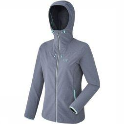 Millet Softshell Tahoe Stretch mid grey/dark blue