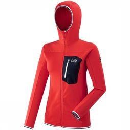 Millet Softshell Tri Lghtgr red