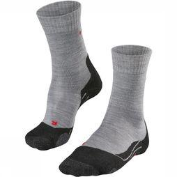 Falke Sock TK2 W light grey/dark blue