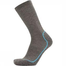 UphillSport Sock Kevo Light Grey Mixture/Light Blue