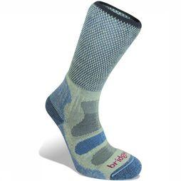 Bridgedale Sock Hike Cotton Cool Comfort Lightweight mid blue