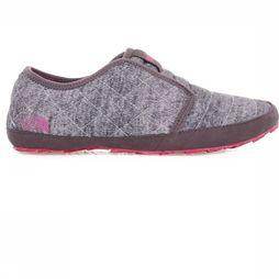 The North Face Pantoufle Thermoball Traction Mule II Gris Clair/Rose Moyen