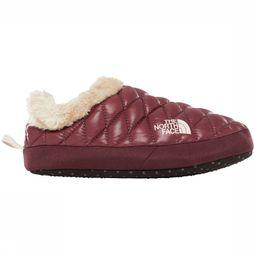 The North Face Slipper Thermoball Tent Mule Faux Fur Bordeaux