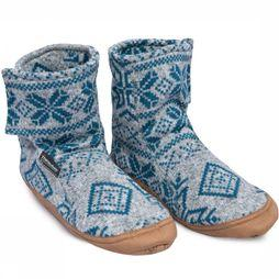 Ayacucho Slipper Inverno mid grey/light blue