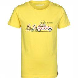 Stones and Bones T-Shirt Russel The Climb yellow