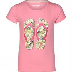 Stones and Bones T-Shirt Camille Flipflops Rose Moyen