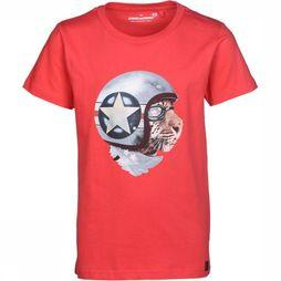 Stones and Bones T-Shirt Russel Race Tiger red