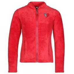 3 Pommes Cardigan Polaire Rood