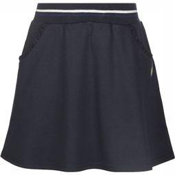 3 Pommes Skirt Bleu Jupe Molleton dark blue