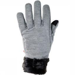Vaude Glove Tinshan II Light Grey Mixture