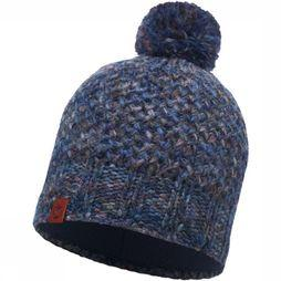Buff Muts Lifestyle Knitted Middenblauw/Donkerblauw