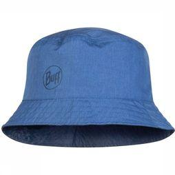 Buff Hat Travel Bucket Hat mid blue/dark blue
