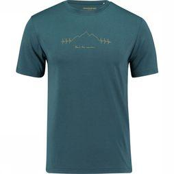 Ayacucho T-Shirt Beat The Mountain mid blue