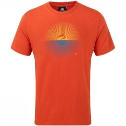 Mountain Equipment T-Shirt Prism Oranje