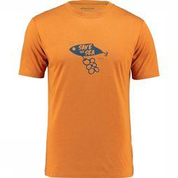 Ayacucho T-Shirt Save The Sea Orange