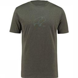 Ayacucho T-Shirt Bison Donkergrijs