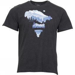 United by Blue T-Shirt Walk In The Woods Zwart