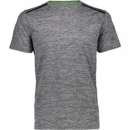 CMP T-Shirt Men Outdoor Trekking dark green