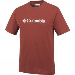 Columbia T-Shirt CSC Basic Logo Short Sleeve rust