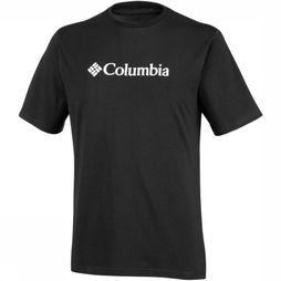 Columbia T-Shirt CSC Basic Logo Short Sleeve black/white