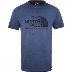 The North Face T-Shirt Washed Berkeley Bleu