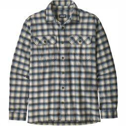 Patagonia Chemise Fjord Flannel Ecru/Assortiment