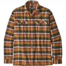Patagonia Chemise Fjord Flannel Orange/Assortiment