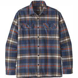 Patagonia Hemd Fjord Flannel Donkerblauw/Assortiment