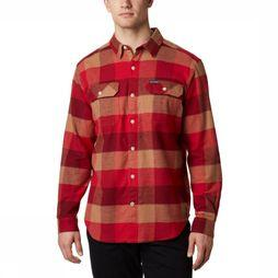 Columbia Hemd Flare Gun Stretch Flannel Rood/Assortiment