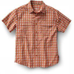 Royal Robbins Shirt Diablo Plaid Ss red