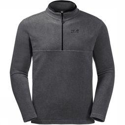 Jack Wolfskin Fleece Arco Half-Zip dark grey