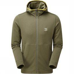 Sprayway Fleece Zebu Hoody Lichtkaki