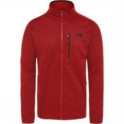 The North Face Fleece Canyonlands Donkerrood