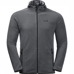Jack Wolfskin Fleece Arco Fz dark grey