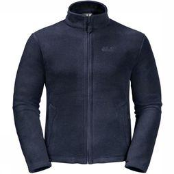 Jack Wolfskin Fleece Moonrise Donkerblauw
