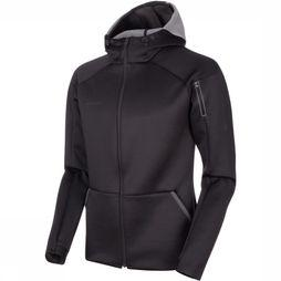 Mammut Fleece Mammut Logo ML Hooded black