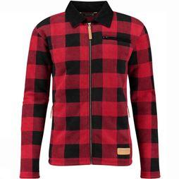 Ayacucho Fleece Logman red/black