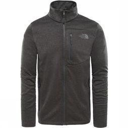 The North Face Fleece Canyonlands Donkergrijs