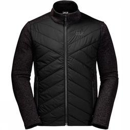 Jack Wolfskin Fleece Caribou Crossing Track black
