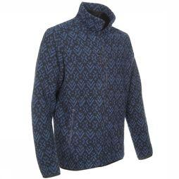 Fleece Staten F-Zip Print