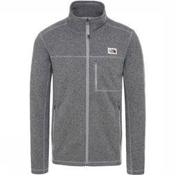 The North Face Fleece Gordon Lyons Fz Lichtgrijs Mengeling