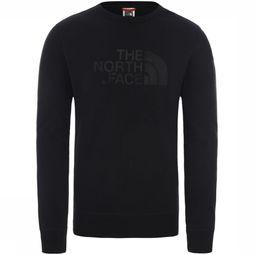 The North Face Trui Drew Peak Crew Light Zwart