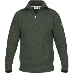 Fjällräven Pullover Greenland Re-Wool dark green