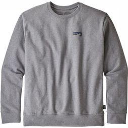 Patagonia Pullover P-6 Label Uprisal mid grey