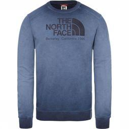 The North Face Trui Washed Berkeley Crew Blauw