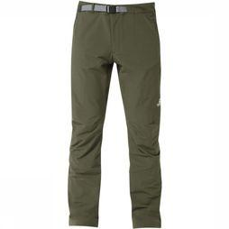 Mountain Equipment Pantalon Ibex Short 29 Kaki Foncé