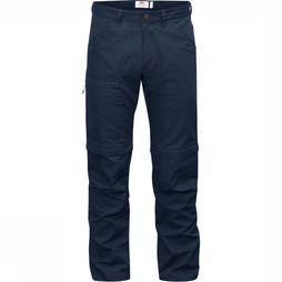 Fjällräven Pantalon High Coast Zip-Off marine