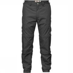 Fjällräven Trousers Sipora Zip-Off dark grey