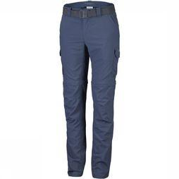 "Columbia Pantalon Silver Ridge Convertible 34"" Bleu"